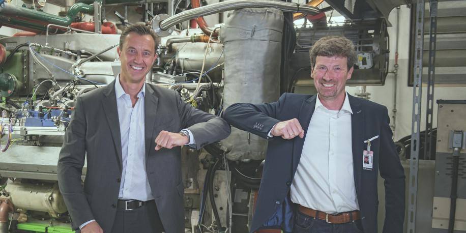 innio hansewerk wasserstoffmotor test sep 2020