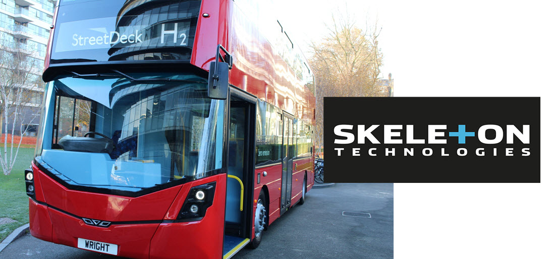 Aberdeen Fuel Cell Buses by Wrightbus Skeleton Tech