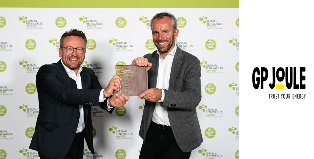Award winning GP JOULE Receives German Renewables Award 2020 eFarm Named Project of the Year