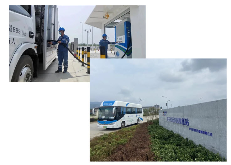 Beijing Yanqings First Hydrogen Station Successful First Two Months of Trials