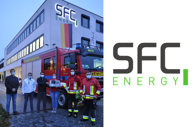 Brunnthal Voluntary Fire Brigade Relies on EFOY Fuel Cell