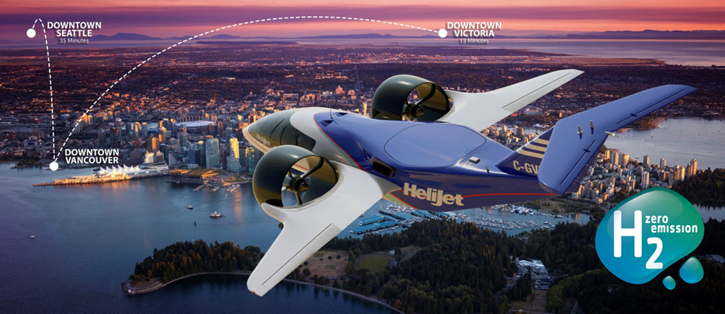 Canada Launches Major Initiative in Advanced Air Mobility to Accelerate Implementaion of Electric and Hydrogen Powered Vertical Takeoff Flight in Canada