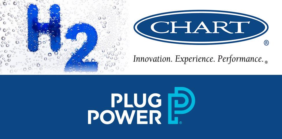 Chart Industries Hydrogen Plug Power