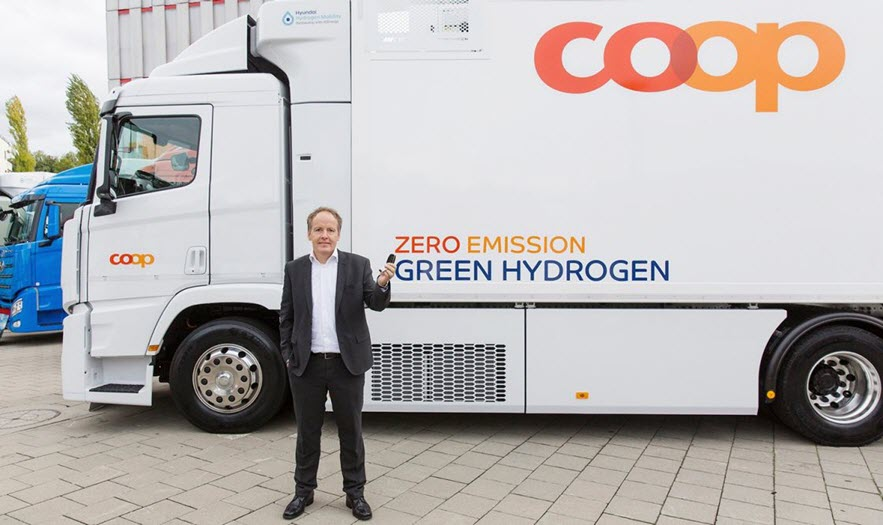 Coop Puts More Hydrogen Trucks on the Roads