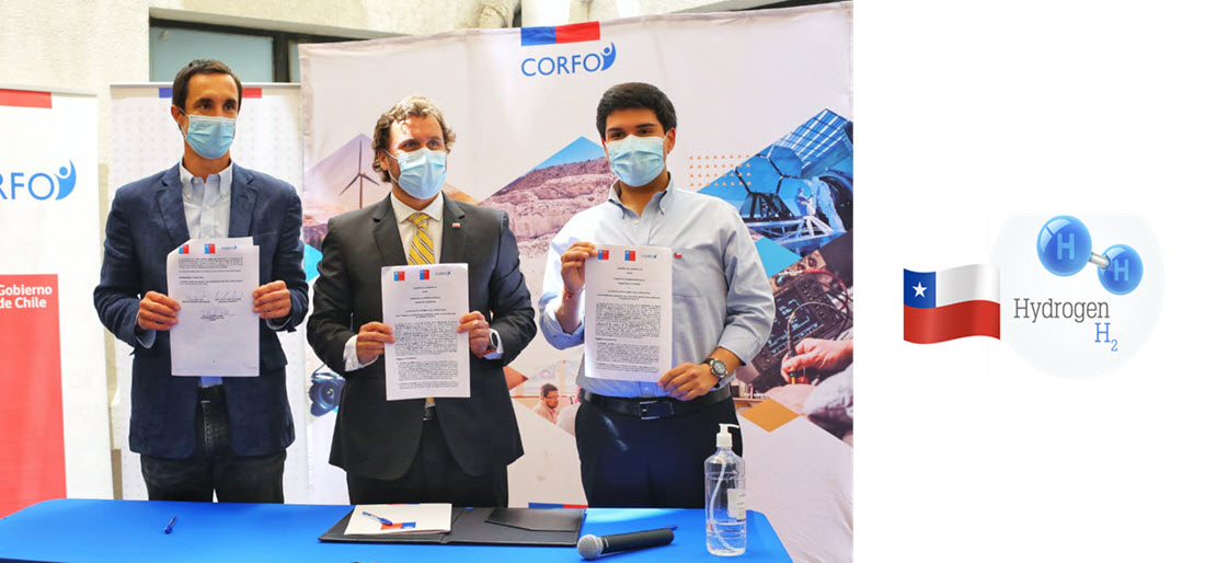 Corfo Bienes Nacionales and Energia Sign a Collaboration Agreement to Promote Green Hydrogen Projects in Public Lands
