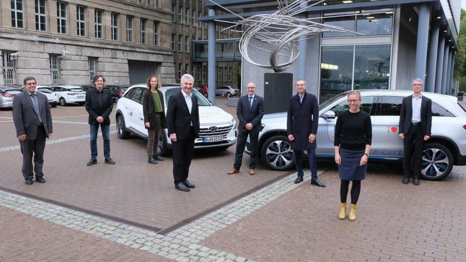 DusselRheinWupper is the Winner of the Model Region Hydrogen Mobility Competition