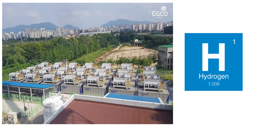 EGCO Group officially kicked off operations at its 19.8 MW Gangdong fuel cell power plant