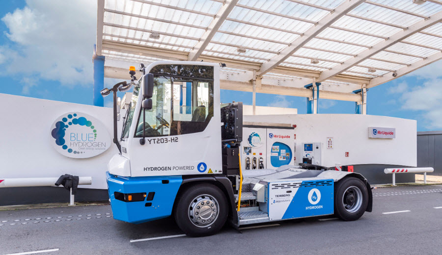 First Hydrogen Powered Terminal Tractor Operational in Port of Rotterdam Main