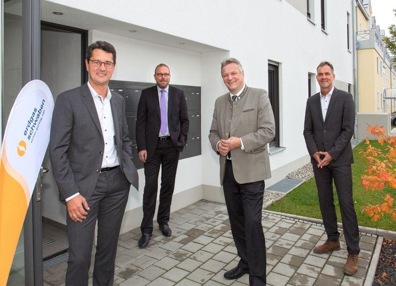 Fuel Cell Pilot Project of erdgas schwaben