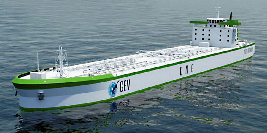 Fuel cells works, GEV Receives Approval in Principle for its C-H2 Ship Containment System