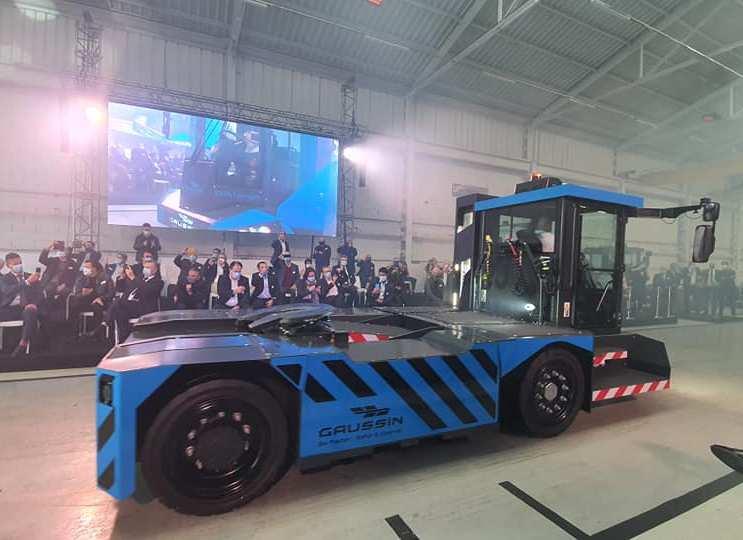 Gaussin hydrogen vehicle 3