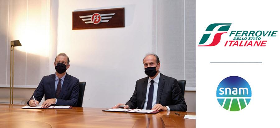 Gruppo FS Italiane and Snam Collaborate to Promote Study in Hydrogen Rail Transport