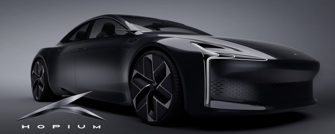 fuel cells works, France: Hopium Will Unveil the First Rolling Prototype of the Hopium Machina on June 17
