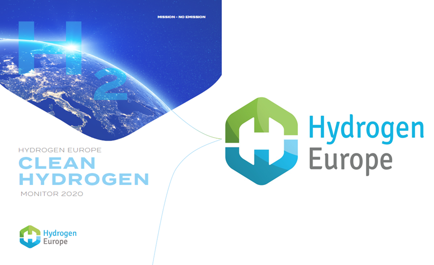 Hydrogen Europe Clean Hydrogen Monitor 2020 Cover