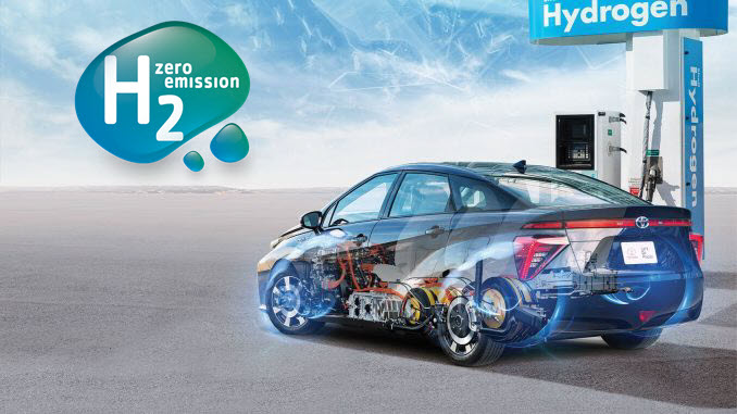 Hydrogen Station and Toyota Fuel Cell Car