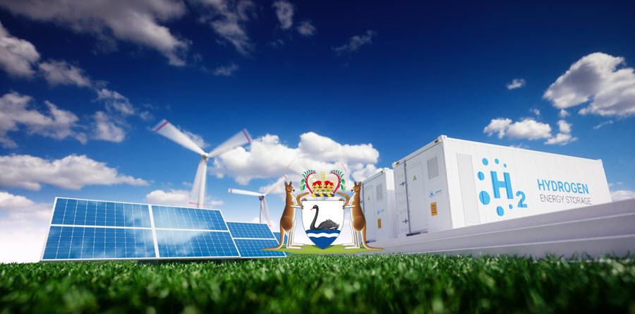 Hydrogen Storage Green Western Australia