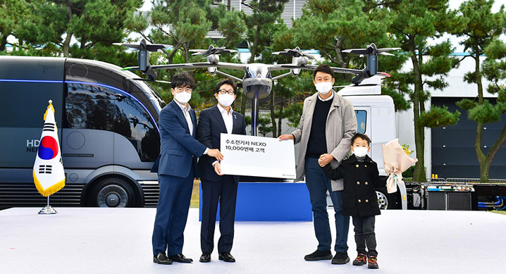 Hyundai Motor Companys Hydrogen Fuel Cell Electric Nexo Surpasses 10000 in Domestic Sales