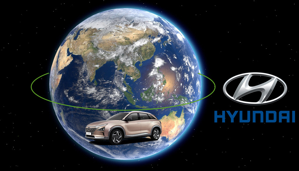 Fuel cells works, Hyundai's Vision Embedded in 'H', a Sustainable Future