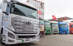 Hyundai Today Delivered the First Seven Units of its XCIENT Fuel Cell Truck 7