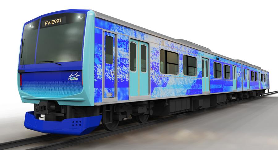 JR East Hitachi Toshiba to Develop Hydrogen Train