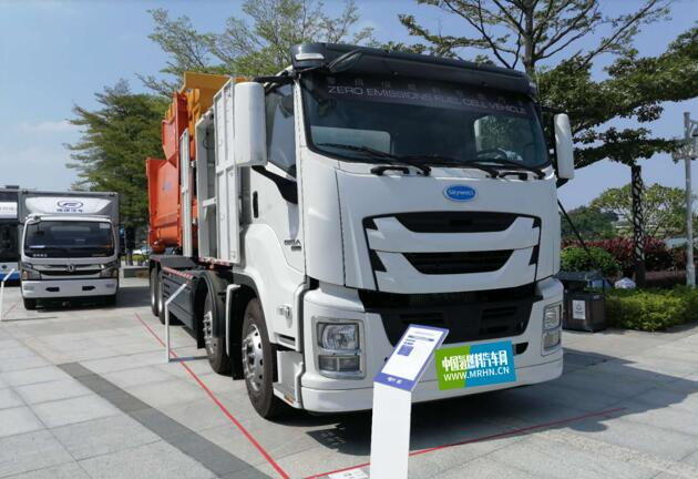 Kaiwo Hydrogen Fuel Cell Refuse Truck Unveiled