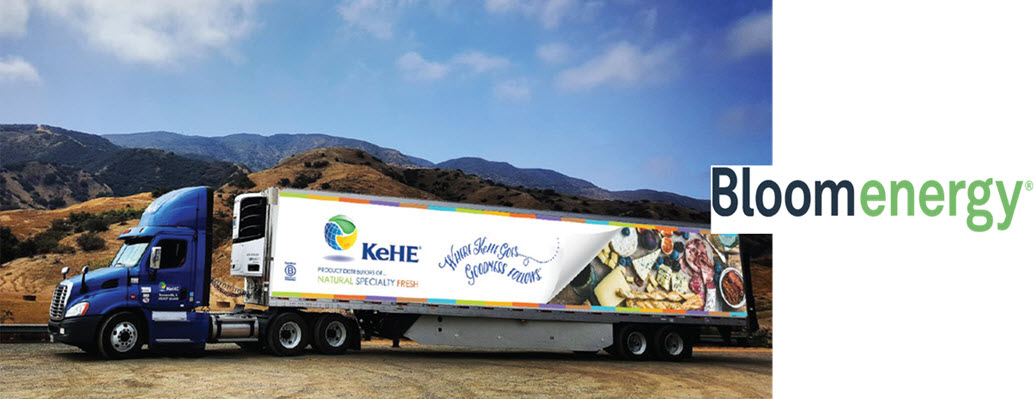 KeHE Reduces Carbon Dioxide Emissions in California Facility with Fuel Cell Technology
