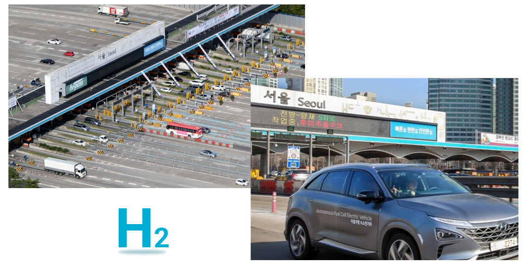 Korea Hydrogen Fuel Cell Car Toll Discount Extended for Another 2 Years Until 2022