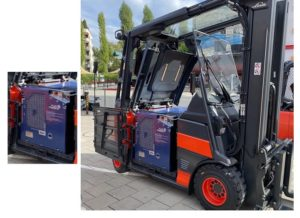 Linde Material Handling Shows the First Fuel Cell Hydrogen Forklift 1 1