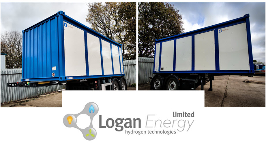 Logan Energy Receives its First Hydrogen Tube Trailers for Northern Ireland Hydrogen Project