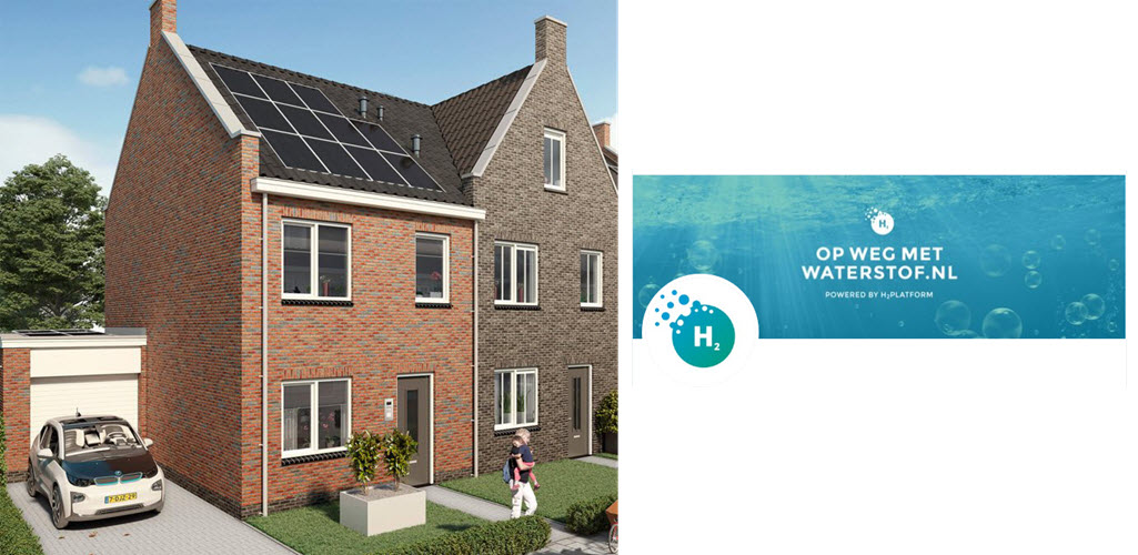Netherlands First Homes on a Hydrogen network in 2022