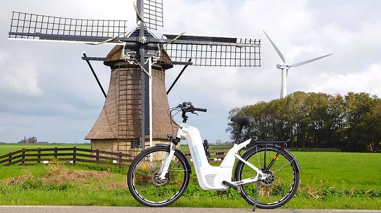 Netherlands Mobile Hydrogen Filling Station for the Alpha Hydrogen Bicycle