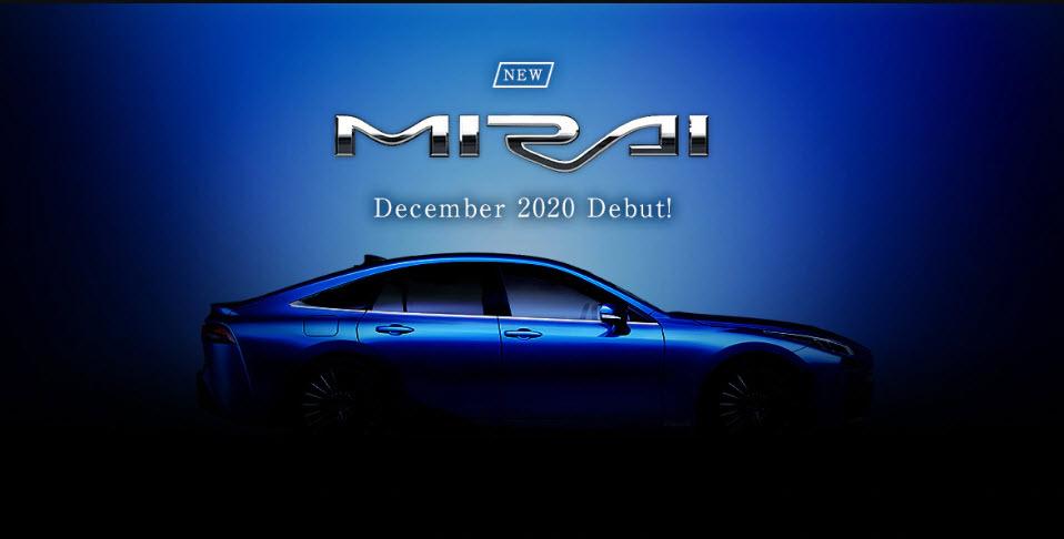 New Mirai Debut in Dec 2020