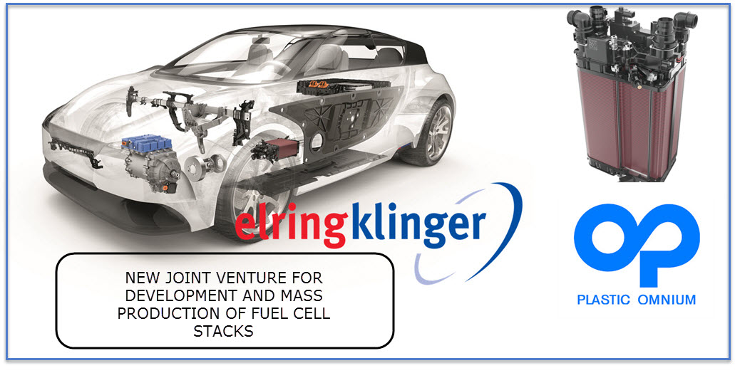 Plastic Omnium and ElringKlinger Partner in Fuel Cell Technology