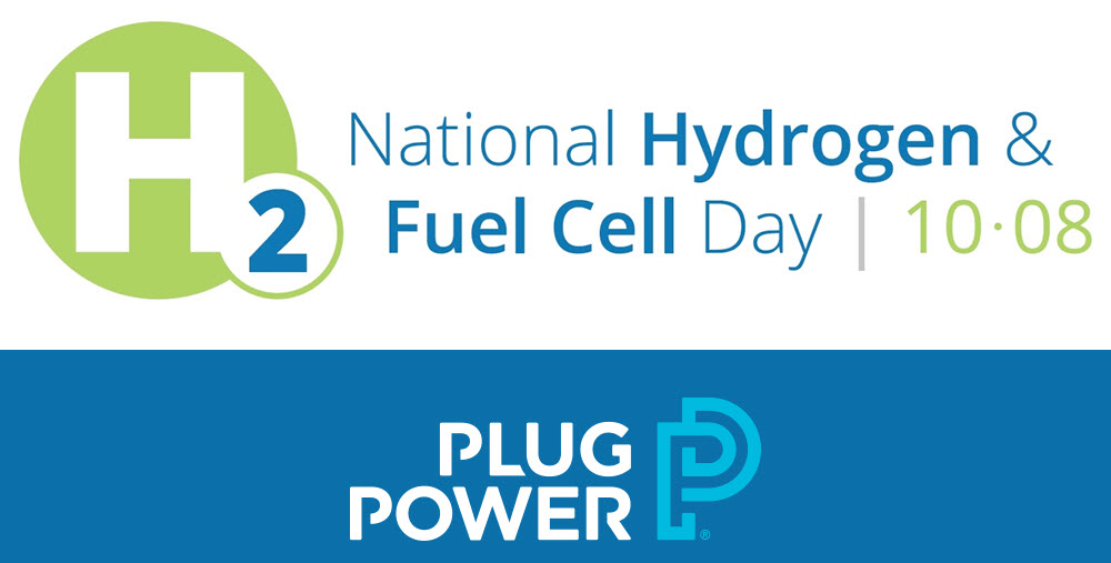 Plug Celebrating Fuel Cell Hydrogen Day