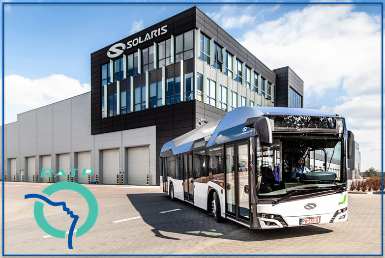 RATP Group Tests a Hydrogen Bus from Solaris with Help from Air Liquide