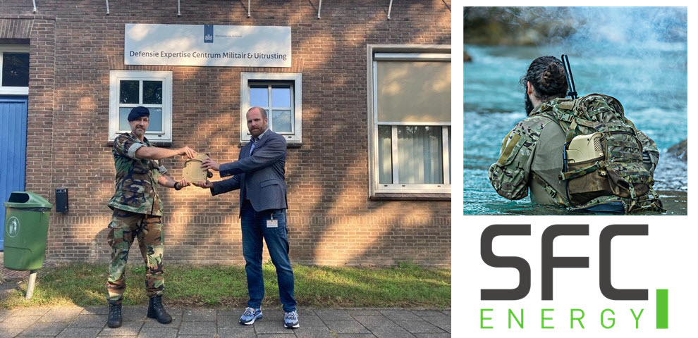 SFC Fuel Cell for Dutch Ministry of Defense
