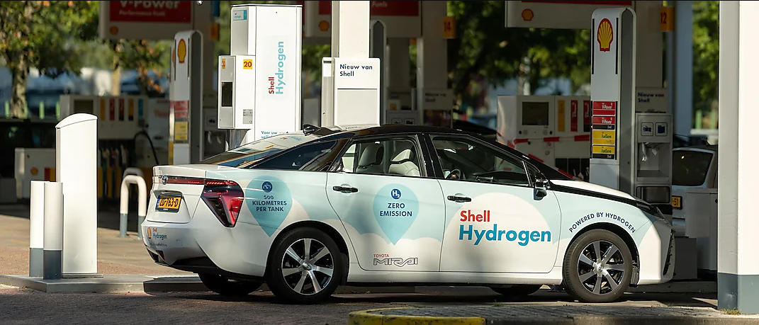Shell Hydrogen Station in Amsterdam