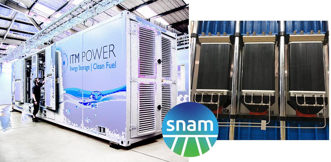 Snam focuses on green hydrogen technologies