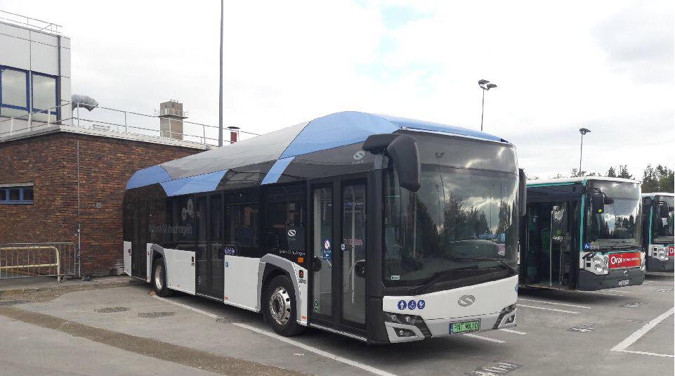 Solaris Hydrogen Bus Tested in Paris 1