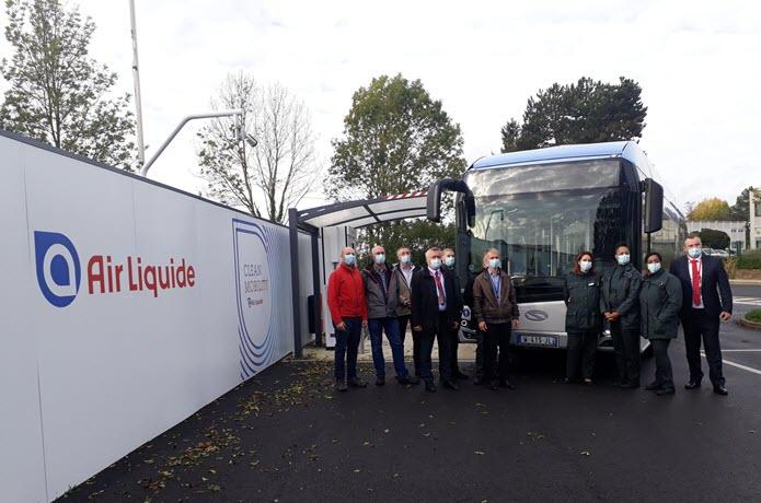 Solaris Hydrogen Bus Tested in Paris 2