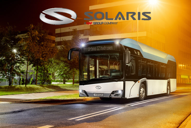 Solaris Hydrogen Bus Tested in Paris 3