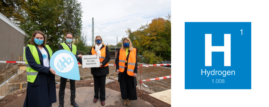 Start of Construction of the First Hydrogen Station in Saarland