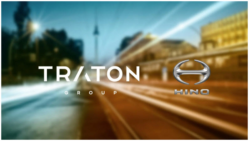 TRATON and Hino Start E Mobility Joint Venture with Batteries and Fuel Cells