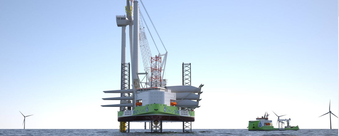 Ulstein Unveils Second Hydrogen Hybrid Design for the Offshore Wind Industry