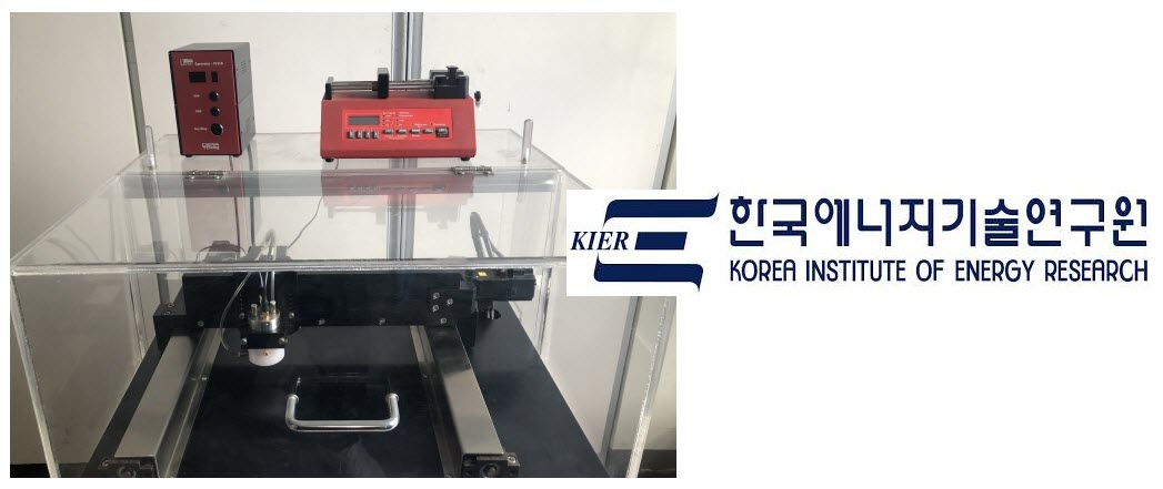 Ultrasonic Equipement KIER Research on SOFC