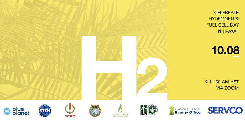 Virtual Event Set Thursday to Mark Hydrogen and Fuel Cell Day in Hawaii