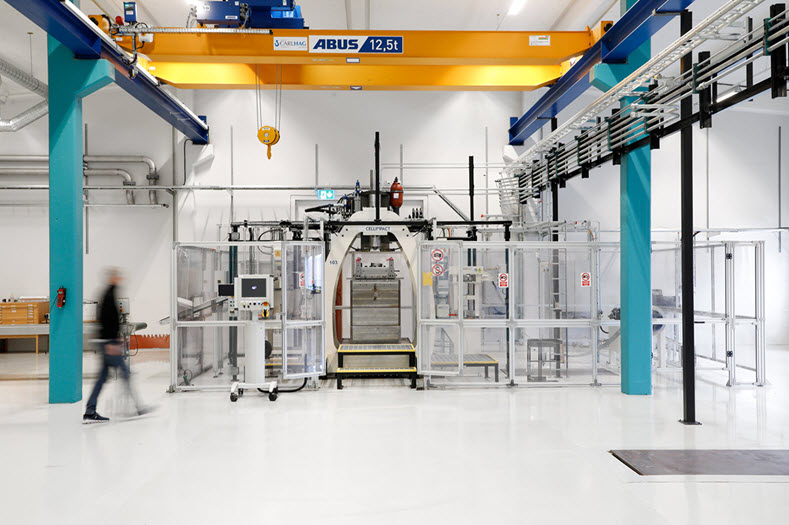 cell impact opens new karlskoga factory for production of fl 79925 1 HighVelocity Forming Machine
