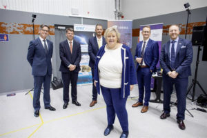 odfjell presents fuel cell to prime minister erna solberg foto sustainable energy catapult center 2