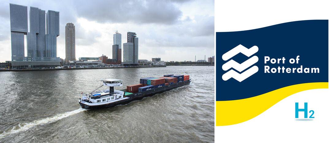 port of rotterdam hydrogen new