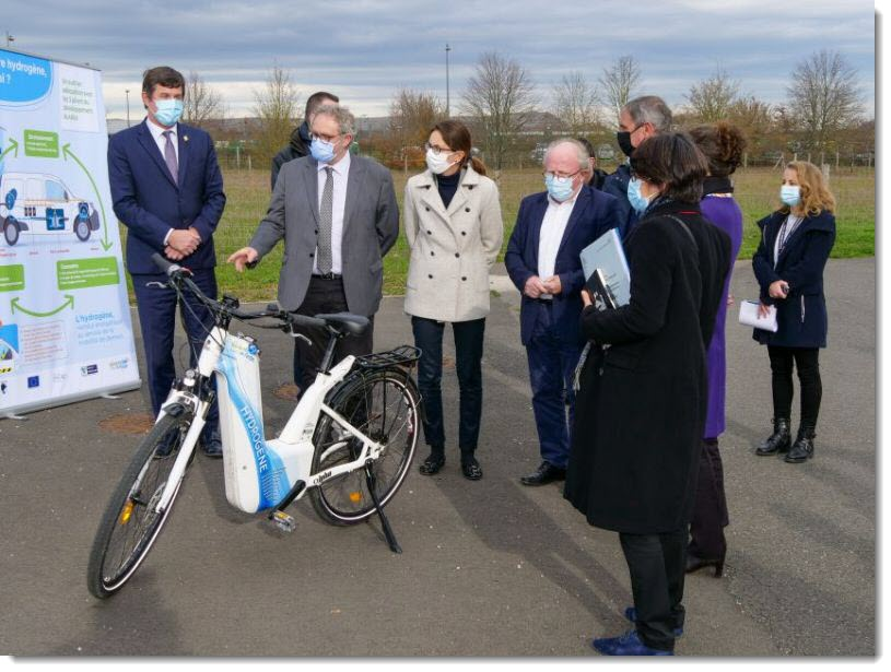 A Minister in Sorigny for Hydrogen
